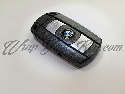 colore-grigio-scuro-portachiavi-in-metallo-lucido-con-telecomando-per-bmw-serie-1-3-4-5-6-serie-e-x1