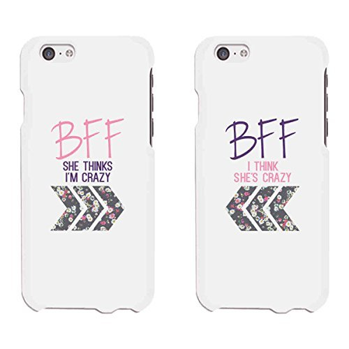 Best Friends Phone Cases - BFF Floral Phone Covers for iphone 4, iphone 5, iphone 5C, iphone 6, iphone 6 plus, Galaxy S3, Galaxy S4, Galaxy S5, HTC M8, LG G3