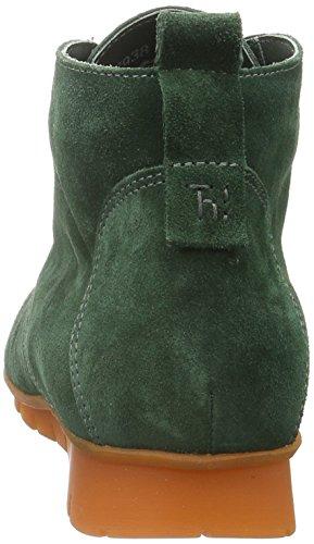 Think! Menscha, Bottes courtes avec doublure chaude femme Vert - Grün (PINO/KOMBI 61)