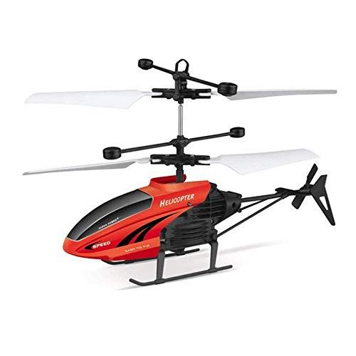 Smmli Fernbedienung Flugzeug, EPP Drone RC Hubschrauber Indoor-Kanäle 2,5 Kanal Hobby Mini Spielzeug Geschenk für Kinder Crash Resistance Consistent Built-in Gyro 2,4 GHz Segelflugzeug