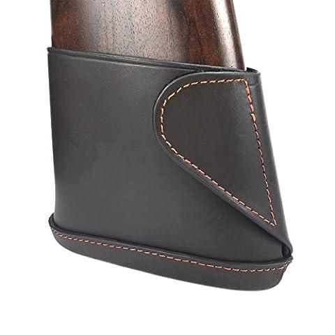 Rückstoßauflage aus Leder für Schrotflinten mit Klettverstellung Tontaubenschießen ... (Tontaubenschießen Guns)