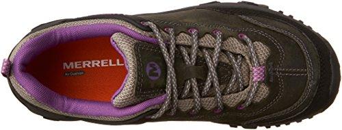 Merrell - Scarponcini da escursionismo, Donna Grigio (Castle Rock/Purple)