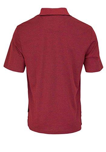 Hajo Herren Poloshirt Easy Care - rot Mittelrot