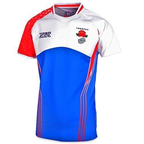ACTIVE Britannici sport uniforme standard jersey con il rugby association (Capi Britannici)