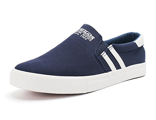 Demon&Hunter KU-DA Series Herren Slip On Sneaker No.III 403297U x Blau