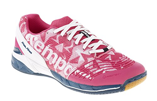 Kempa Damen Attack One Women Handballschuhe, Pink (02), 40.5 EU