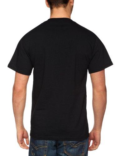 Plastic Head Herren T-Shirt Schwarz (Noir)