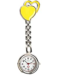 ShopyStore As Shown 2016 New Fasion Sweet Heart Chest Pocket Watch Nurse Table Quartz Alloy With C - B07FFS628Y