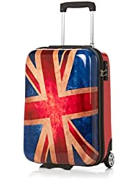 Travel Union Jack 4-Rollen-Trolley 67 cm, union jack Fabrizio
