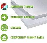 ITALFROM - Pannelli da 5 cm EPS 100 Polistirene Isolamento Termico Polistirolo (Confezione 10 Pezzi)
