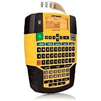 DYMO Rhino- Etiquetadora (teclado QWERTY), negro y amarillo
