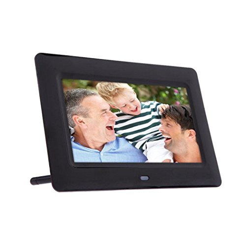 Amlaiworld 7inch HD LCD Digital Photo Frame Slideshow & Sveglia
