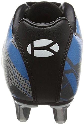 Kooga Evade Junior, Chaussures de Rugby garçon Noir (Black/Yellow)