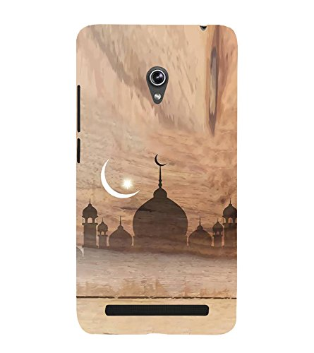 Fiobs Designer Back Case Cover for Asus Zenfone 6 A600CG (Eid Moon...