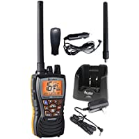 Cobra - MR HH500 UE VHF - Radio Bluetooth, para embarcaciones, 6 vatios