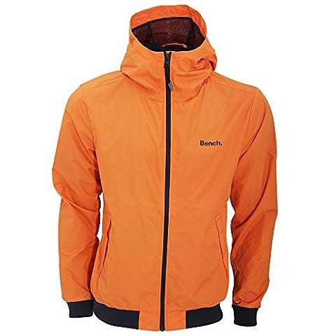 Bench Herren Pastance Jacke mit Reißverschluss, wasserabweisend (XXL) (Orange)