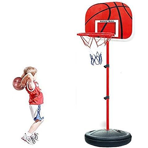 Ajustable Canastas Baloncesto Exterior Interior para Niños
