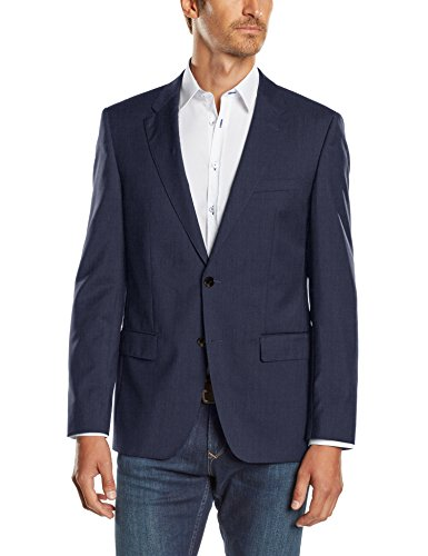 Tommy Hilfiger Tailored Herren Sakko Butch STSSLD99003 Blau (425)