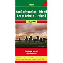 Freytag Berndt Autokarten, Großbritannien - Irland - Maßstab 1:900.000 (freytag & berndt Auto + Freizeitkarten)