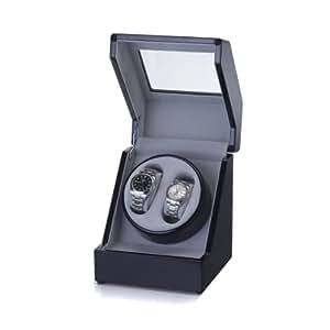 Raoul U Braun Uhrenbeweger für 1-2 Uhren mit Digitalsteuerungsteuerung Klavierlack Watchwinder 1002277