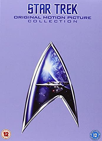 Star Trek Movies 1 - 6 Box Set [UK