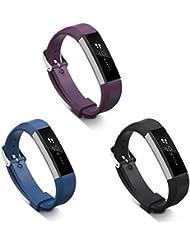 Correa Fitbit Alta y Fitbit Alta HR, Pulseras de Ajustable Recambio Banda Accesorio
