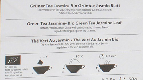 Eilles – Bio Grüntee Jasmin Blatt – 20Bt/50g
