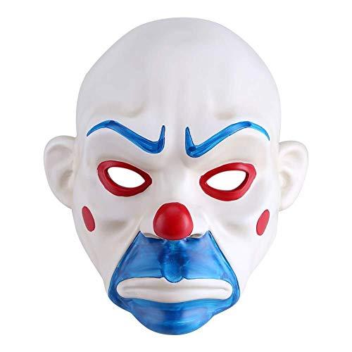 Joker Kostüm Robber Bank - Tanxinxing Mode-Design-Schablonen-Halloween Joker Bank Robber Masken-Halloween-Kostüm for Erwachsene Maske for Halloween Game Party Kostüm.