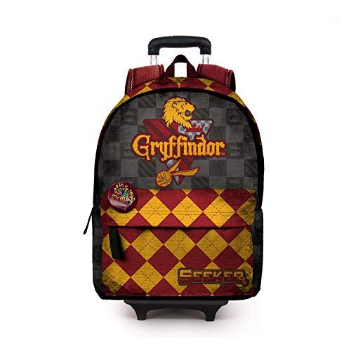 Karactermania Harry Potter Quidditch Gryffindor-HS Trolley-Rucksack Rucksack, 51 cm, 23 Li Preisvergleich