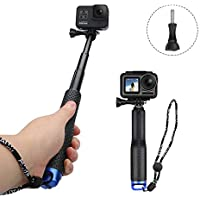 AFAITH Bastone Selfie per GoPro, Impugnatura Impermeabile Regolabile monopiede per Osmo Action Camera,Gopro Hero Hero7 Black,Hero 6/5 4 3, SJCAM, Xiaomi Yi Action Camera