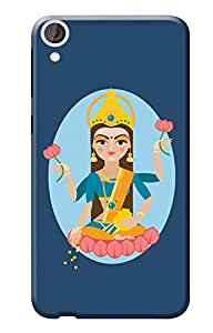 HTC Desire 820 Back Cover, Premium Quality Designer Printed 3D Lightweight Slim Matte Finish Hard Case Back Cover for HTC Desire 820 by Tamah