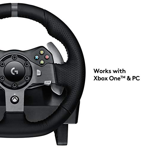 Logitech G920 Driving Force Racing Wheel And Pedals Xbox One And Pc