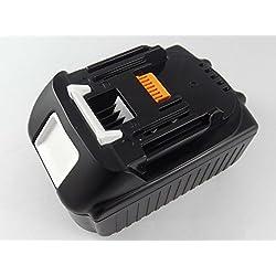 vhbw Batterie Li-Ion 4000mAh (18V) pour outils électriques Makita cafetière sans fil DCM500Z comme BL1830, 194204-5, entre autres.