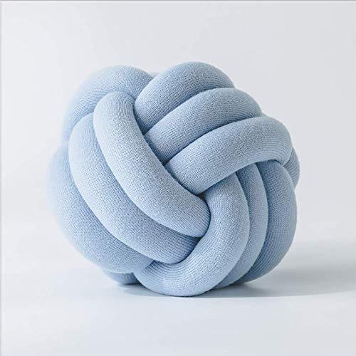 DYR Knot Ball Peluche Cuscino Home Office Divano Decor Cuscino Cuscino Decorazione della Stanza dei Bambini Giocattoli di Peluche contenenti Nucleo, L
