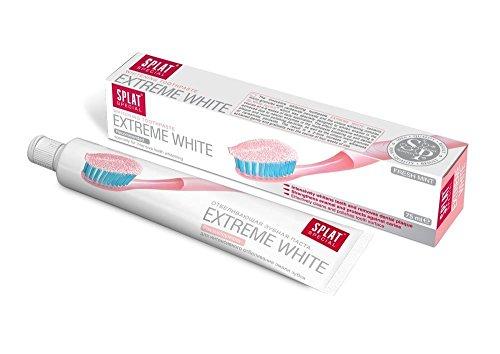 Splat Extreme White Zahnpasta, 1er Pack (1 x 75 ml) (Carbamidperoxid Whitening)