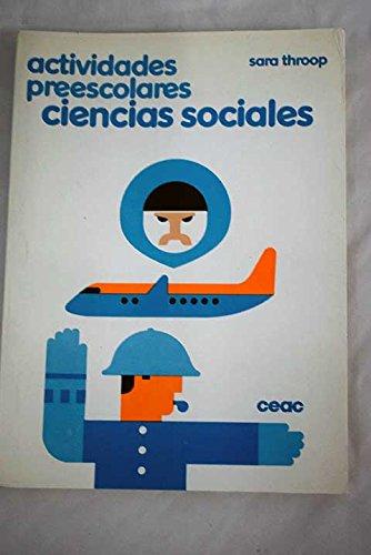 Actividades preescolares: ciencias sociales por Sara Throop