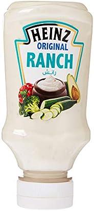 Heinz Ranch Dressing, Top Down Squeezy Bottle, 225ml