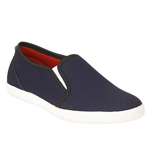 Hilbert Men's Casual Navy Blue Loafer ( 1701F08001_8, Casual Navy Blue)  available at amazon for Rs.250
