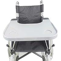 GLJY Accesorios médicos para Mesa de bandejas para sillas de Ruedas, bandejas universales aptas para sillas de.