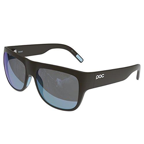 POC Want Gafas de Sol, Unisex Adulto, Marrón (Gadolinium Brown/Helium Blue), Única