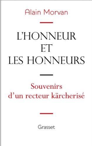L'honneur et les honneurs (essai fra...