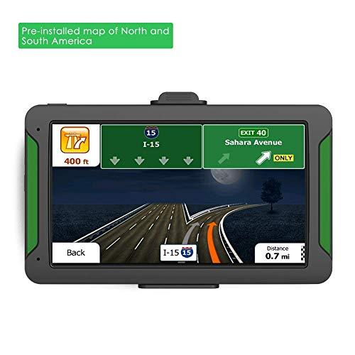 Purplert Navegación en el automóvil - Sistema de navegador GPS de 7...