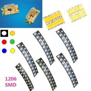 Amazon.es - 10 pcs 1206 Colorful SMD SMT LED Light