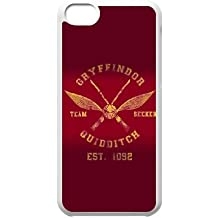 iPhone 5c Cell Phone Case White Harry Potter alma mater Gryffindor Custom Case Cover WDGI11116