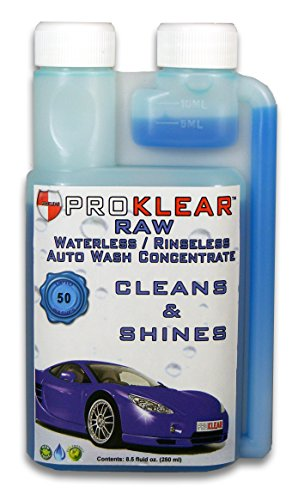PROKLEAR RAW Rinseless / Waterless Auto Wash Concentrate - Car Dry Wash Concentrate