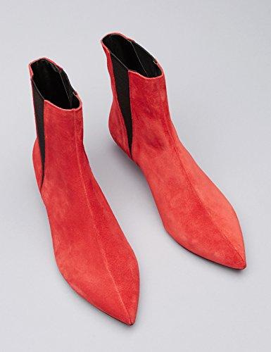 FIND Damen Stiefel Rot (Red)
