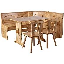 Mesas rinconeras para cocina for Banco esquinero para comedor