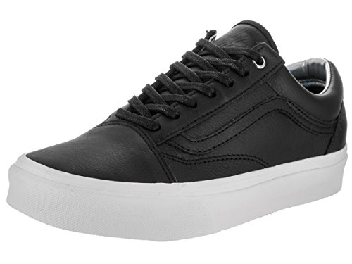 Vans Unisex Old Skool Hologram Black Leather Skate Shoes 7 (Schuhe Low Skate)