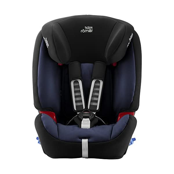 Britax Römer MULTI-TECH III Car Seat (9 Months-6 Years  9-25 kg), Moonlight Blue  Advanced side impact protection - the SICT feature offers superior protection to your child in the event of a side collision Extended rearward facing - rearward facing car seats offer the best protection in the event of a frontal collision - the most frequent type of accident on the roads Deep, protective side wings - the soft, padded side wings act as a protective cocoon that helps to absorb the force from a side impact, reducing the risk of injuries to your child 2
