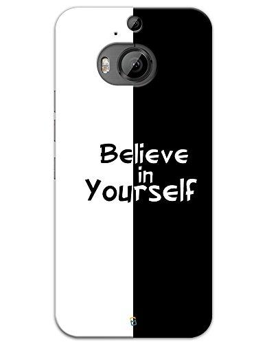 myPhoneMate Believe in Yourself Designer Printed Hard Matte Mobile Case...